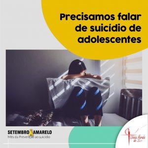 Suicídio adolescentes